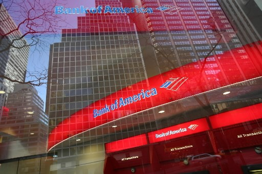 Bank of America a annoncé vendredi qu'elle... (Photo: Associated Press)