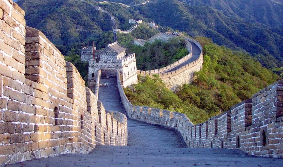 La Grande muraille de Chine beaucoup plus longue