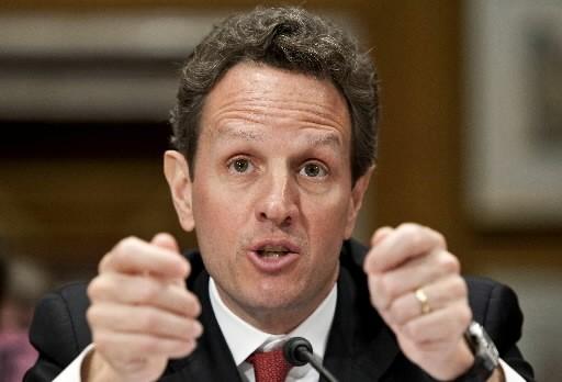Tim Geithner... (Photo: Bloomberg)