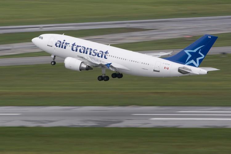 Une grève des pilotes d'Air Transat... (Photo: Patrick Sanfaçon, La Presse)