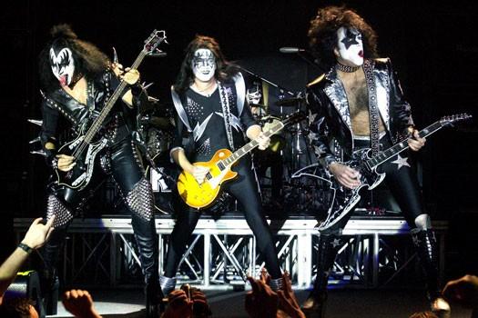Le groupe Kiss... (Archives, La Presse)