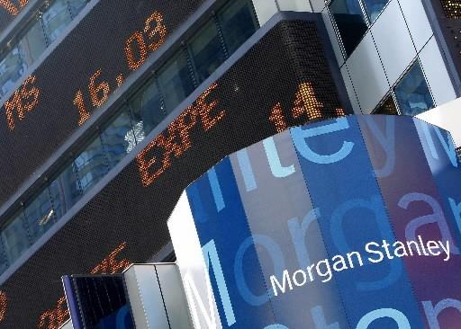 La banque d'affaires américaine Morgan Stanley a annoncé... (Photo: Reuters)