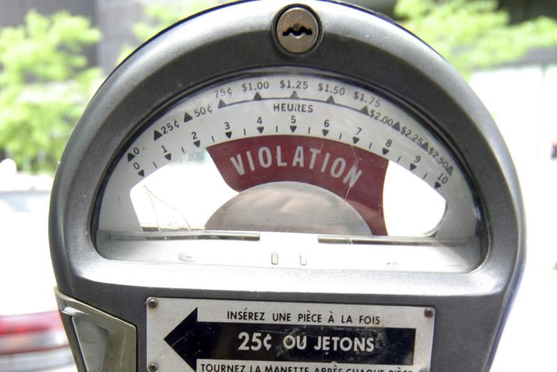 Un réparateur de parcomètres américain a dérobé en... (Photo: archives La Presse)