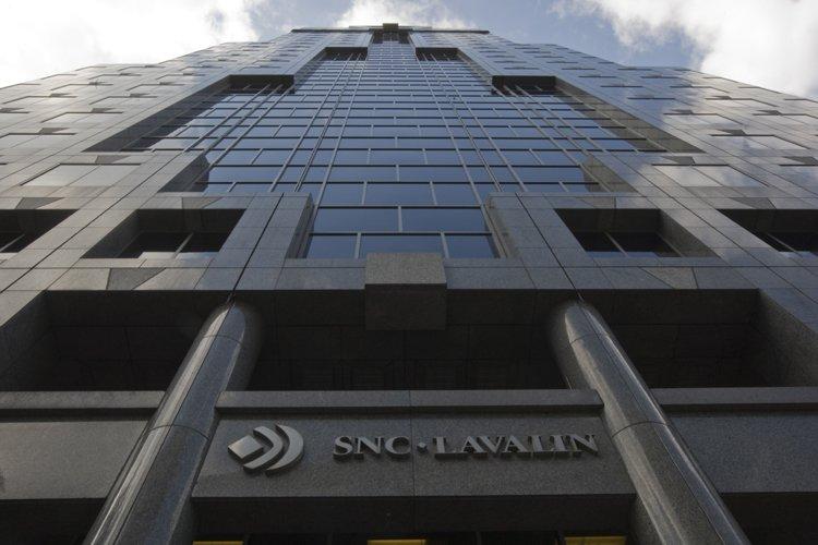Le siège social de SNC-Lavalin à Montréal... (Photo: Rémi Lemée, Archives La Presse)