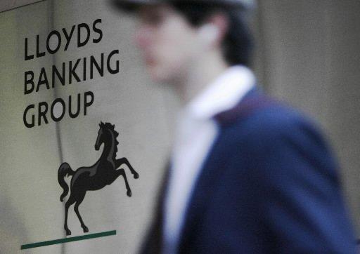 La banque britannique Lloyds Banking Group était sous le coup... (Photo: Reuters)