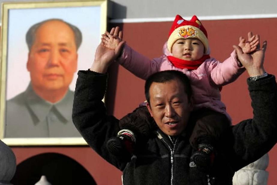 La stricte politique de l'enfant unique en Chine, qui... (Photo Associated Press)