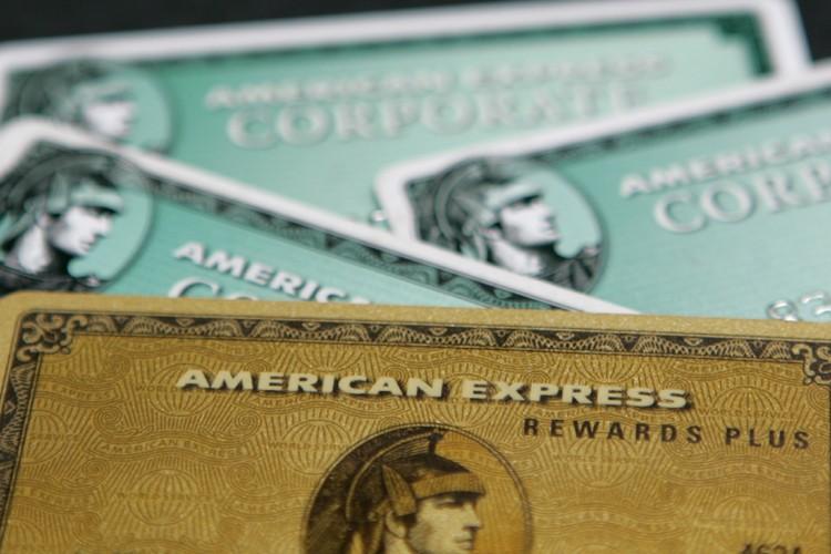 Le groupe américain de cartes bancaires American Express ( (Photo: Bloomberg)