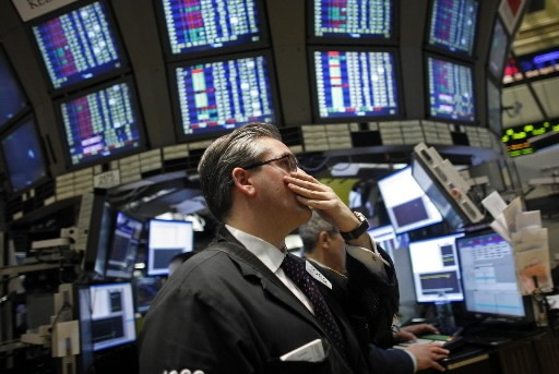 La Bourse de New York a achevé mardi en légère... (Photo: Associated Press)