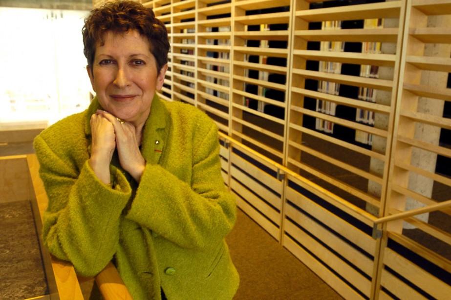 Lise Bissonnette... (Photo: Robert Mailloux, archives La Presse)