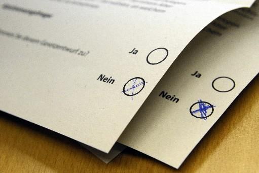 Les citoyens peuvent-ils déclencher une procédure référendaire?... (Photo: AFP)