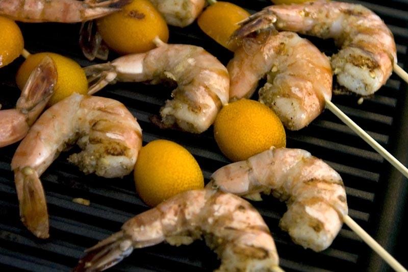 Les crevettes contiennent une dose infime d'oméga-3.... (Photo archives La Presse)