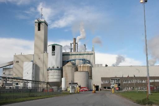 L'usine de Saint-Félicien de SFK Pâte... (Photo: Le Quotidien)