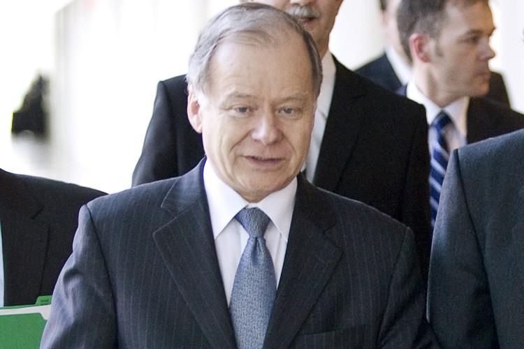 Le ministre des Finances, Raymond Bachand... (Photo: PC)