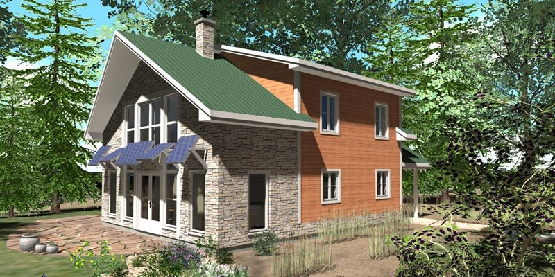 Dans cette maison évolutive, le propriétaire pourra pas... (Photo fournie par Adcom Construction)