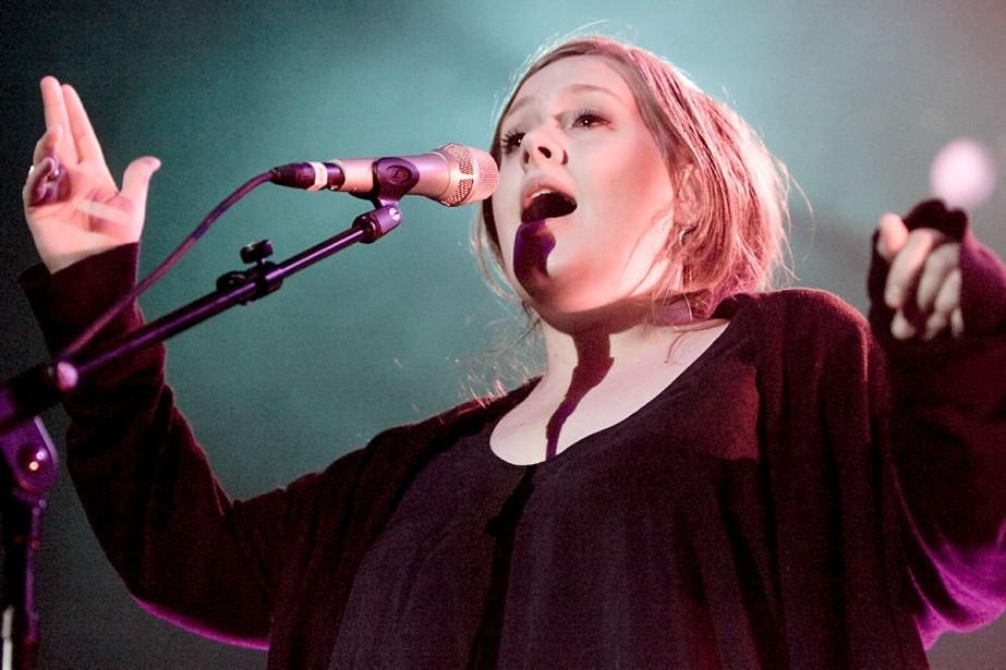 Adele est une artiste qui, à 20 ans... (Photo: André Tremblay, La Presse)