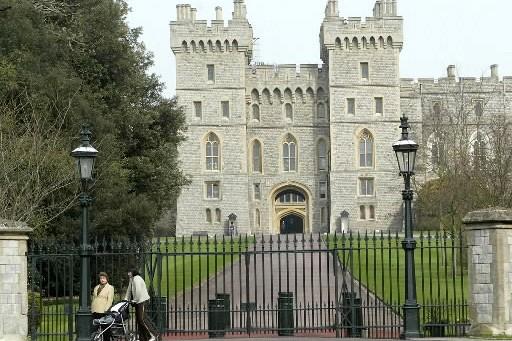 Le château de Windsor à Londres.... (Photo: archives AP)