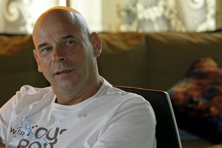 Guy Laliberté n'est pas seulement un talentueux homme... (Photo: Robert Mailloux, La Presse)