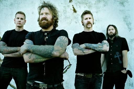 Les membres de Mastodon... (Photo fournie par Warner Music)