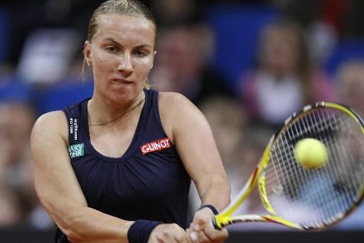 Sveltana Kuznetzova se dirige tout droit vers la... (Photo: AP)