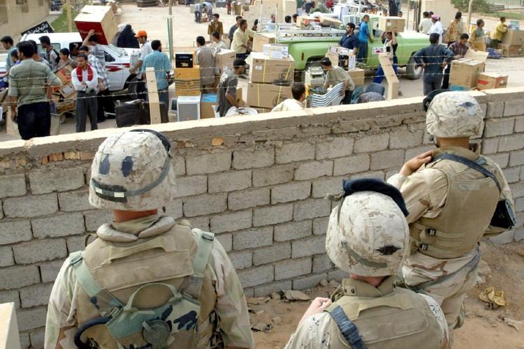 Deux soldats américains ont été tués et trois autres ont été... (Photo: AP)