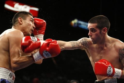 Benoit Gaudet (à droite) s'est incliné contre Humberto... (Photo: Reuters)