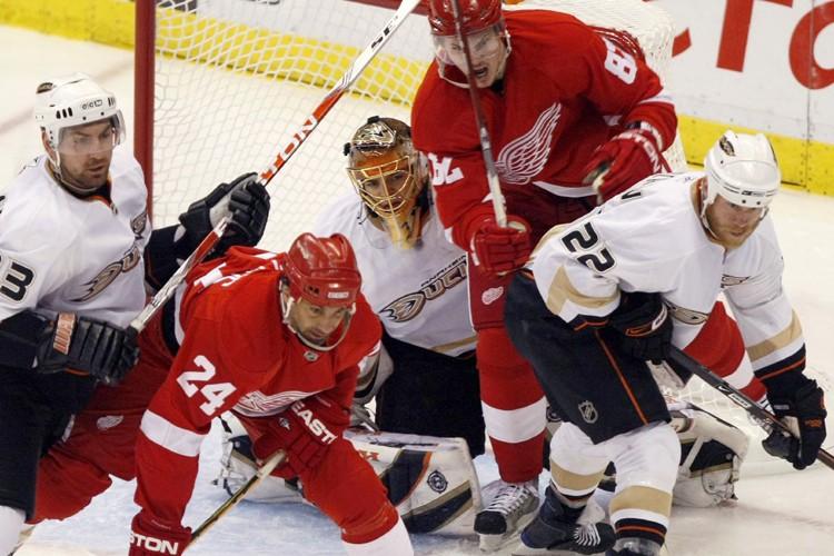 Les Ducks d'Anaheim ont vaincu les Red Wings... (Photo: Reuters)