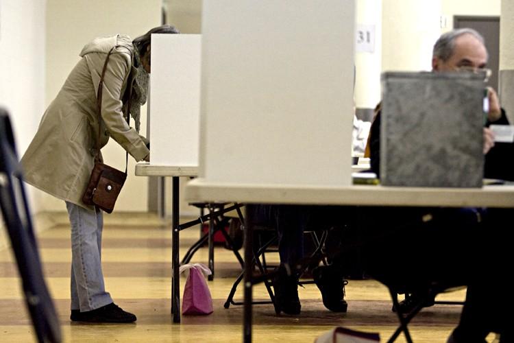 Des citoyens de St-Lambert exercent leur droit de... (Photo: François Roy, La Presse)