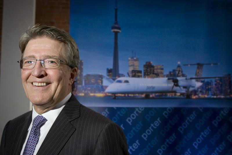 Robert Deluce, président de Porter Airlines... (André Pichette, La Presse)