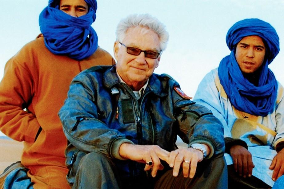 Gilles Proulx au pays des «hommes bleus» au... (Photo: fournie par Gilles Proulx)