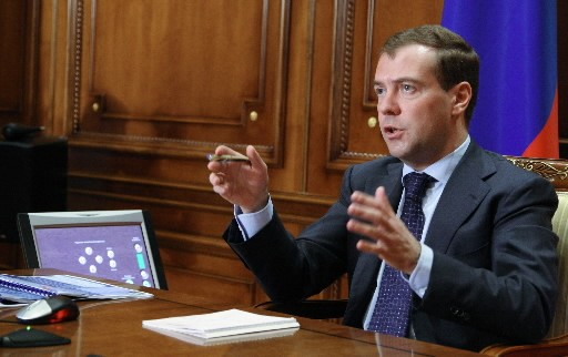 Dmitri Medvedev... (Photo: AFP)