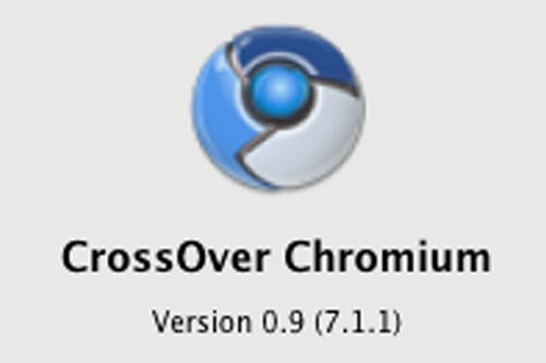 Avec CrossOver Chromium, on n'a pas besoin d'installer le logiciel CrossOver....
