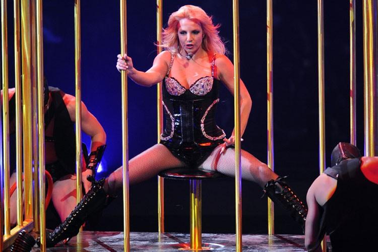 Britney Spears lors de son dernier passage à... (Photo: Bernard Brault, La Presse)