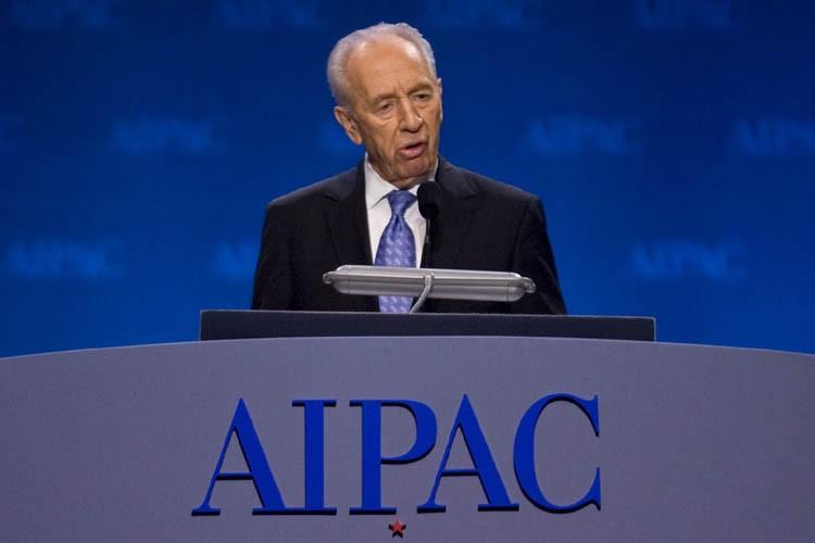 Le président israélien Shimon Peres a été très... (Photo: AP)