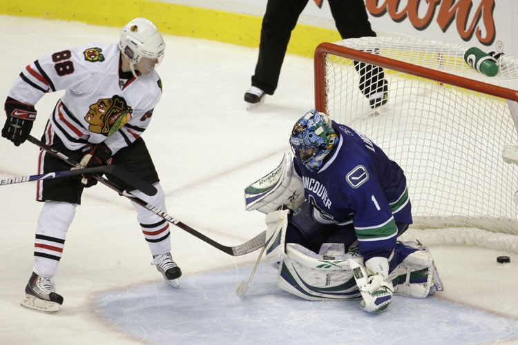 Les Canucks voudront faire oublier la défaite de... (Photo: Reuters)