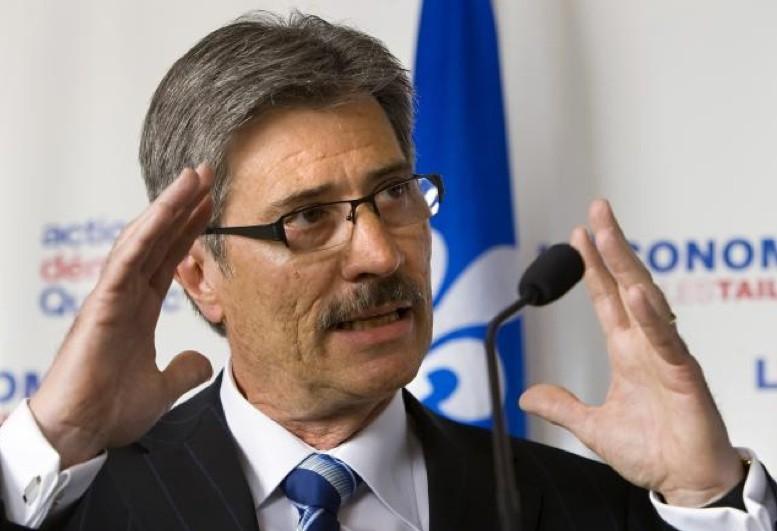 Gilles Taillon, candidat à la chefferie pour l'ADQ... (Photo PC)