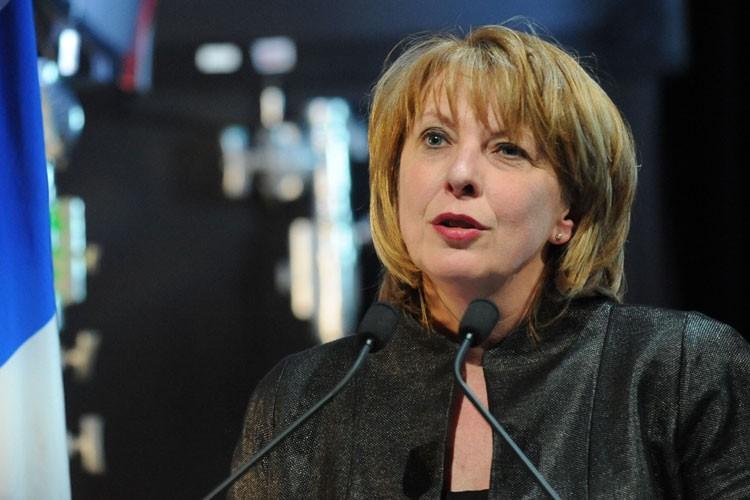 La ministre de la Culture, Christine St-Pierre... (Photo: Steve Deschênes, Le Soleil)