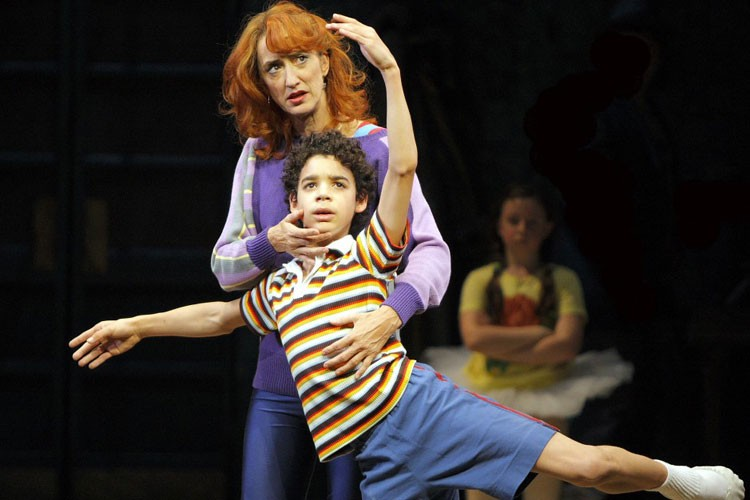 La comédie musicale Billy Elliot met en vedette... (Photo: AP)