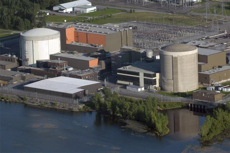 La centrale nucléaire Gentilly-II... (Archives Le Nouvelliste)