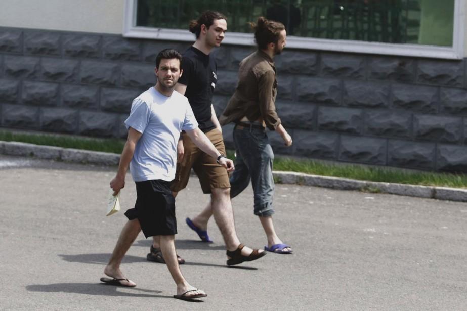 Les étudiants de l'Université de Montréal ont pu... (Photo AP)