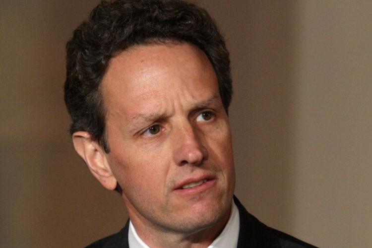 Le secrétaire au Trésor américain Timothy Geithner... (Photo: Bloomberg)