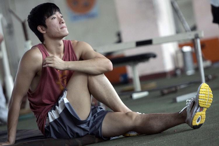 Liu Xiang... (Photo: Reuters)