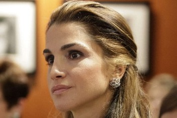 La reine Rania... (Photo: Reuters)