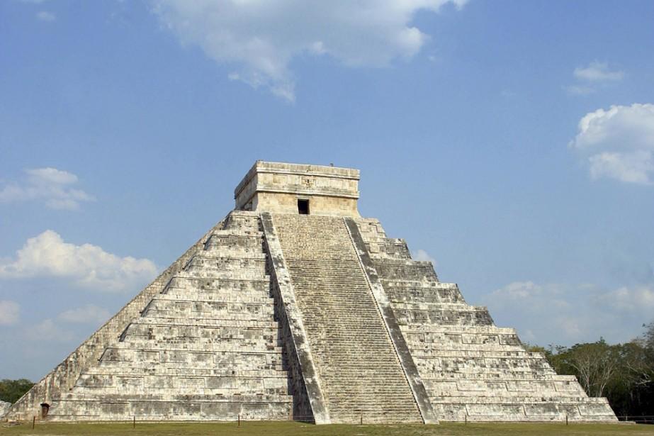 La cité maya de Chichen Itza sur la... (Photo: Reuters)
