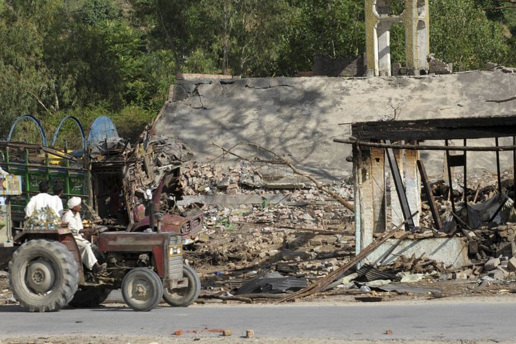 Les combats s'intensifient à Swat.... (Photo: AP)
