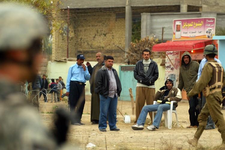 Les forces armées américaines en Irak sont «en bonne voie» de se... (Photo AFP)