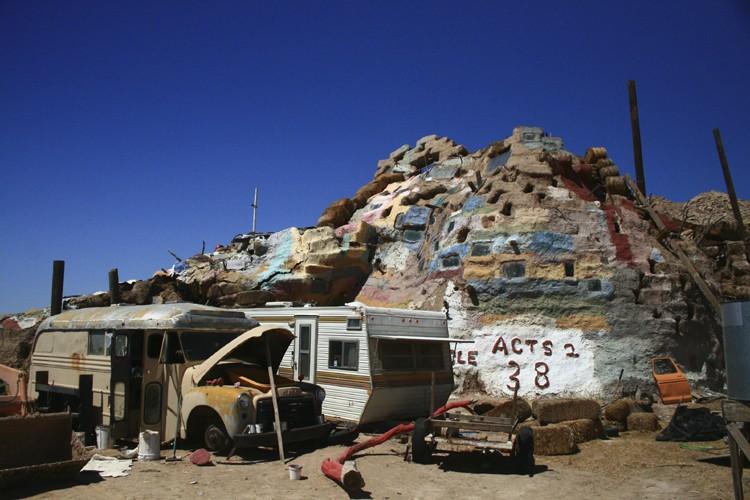 Perdue au milieu de nulle part en Californie,... (Photo: Nick Casaldi, Collaboration spéciale)