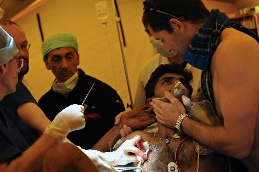 Au moins 257 civils ont été tués et 814 autres blessés par les... (Photo: AFP)