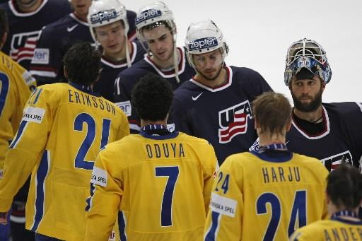 La Suède a battu les États-Unis 4-2, dimanche, pour remporter la... (Photo: AP)
