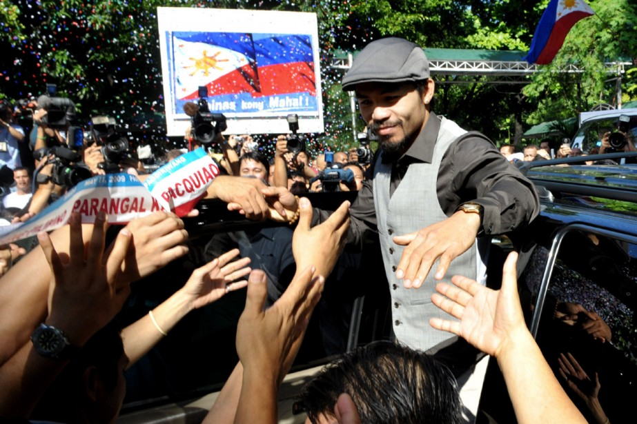 Manny Pacquiao... (Photo:  AFP)