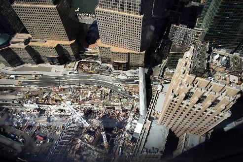 Le nouveau World Trade Center bâti sur le site détruit dans les... (Photo: AFP)